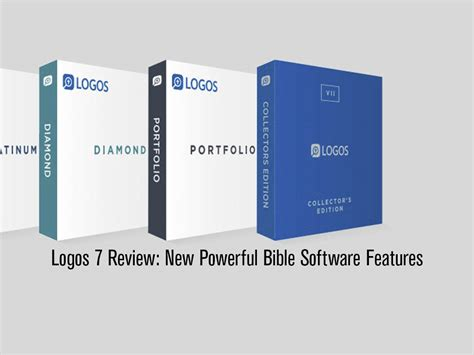 logos  review  powerful bible software features