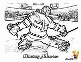 Hockey Coloring Goalie Pages Nhl Printable Yescoloring Sheets Print Players Player Blues Ice Boys Printables Coloringpage Crafts Cold Birthday Colouring sketch template