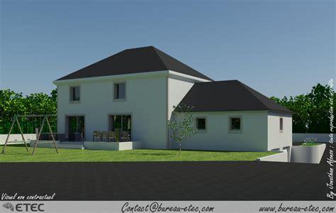 plan maison 3 chambres maison traditionnelle fontaine française etec
