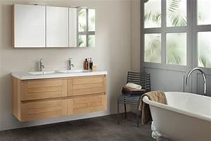 meuble salle de bain sanijura lignum atout kro With sanijura meuble de salle de bain