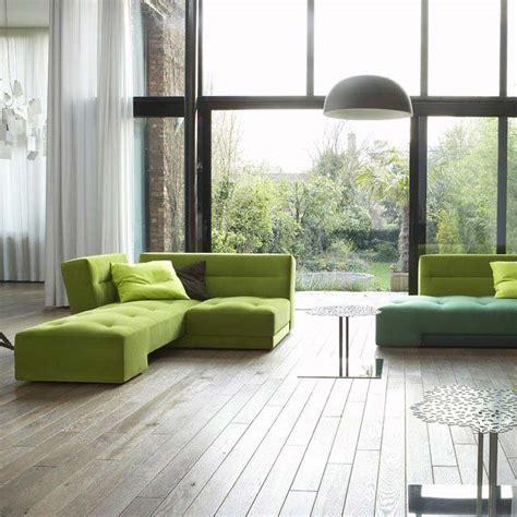 canapé vert anis 50 idées déco de canapé