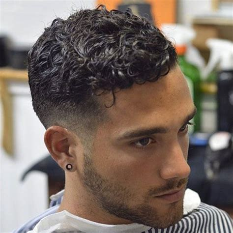 curly hair fade curly hairstyles  men short curly hair haircuts  curly hair mens