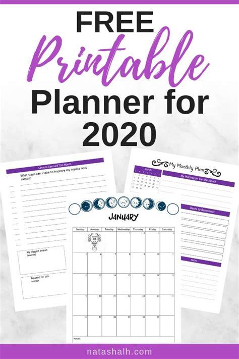 planner printables    year