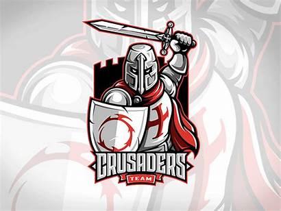 Crusaders Emblem Crusader Knight Logos Sports Knights