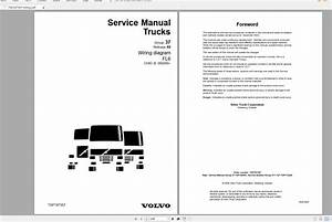 Volvo Fl6 Trucks Service Manual Buses  U0026 Wiring Diagrams