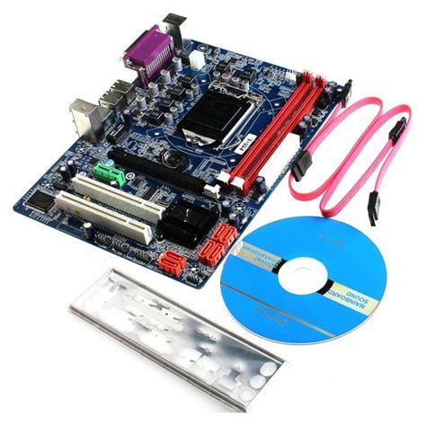 intel p55 l atx lga1156 carte m 232 re d ordinateur multicolore envoie gratuit dealextreme
