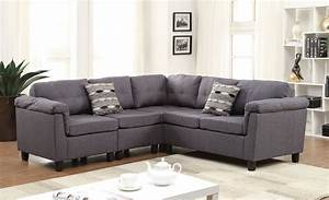 cleavon reversible red linen sectional sofa With reversible sectional sofa meaning