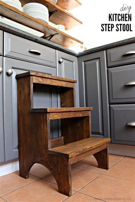 cute diy  step stool tutorial    build