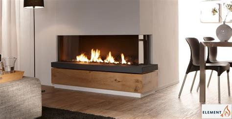 Fabulously Minimalist Fireplaces by European Design Fireplaces Linear Contemporary Corner