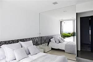 mirror wall bedroom Interior Design Ideas