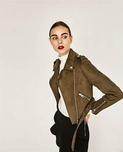 Blouson En Daim Femme : blouson effet daim nouveaut s femme zara france everyday outfit pinterest blouson veste ~ Melissatoandfro.com Idées de Décoration