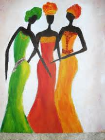 Abstract Paintings African Women