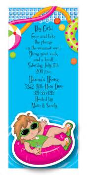 printable wedding invitations birthday pool party invitation wording ajordanscart