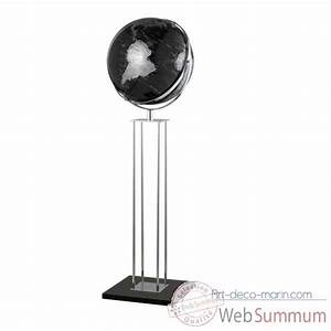 Globe Terrestre Sur Pied : globe sur pied emform se 0636 dans globe terrestre marin sur art d co marin ~ Teatrodelosmanantiales.com Idées de Décoration