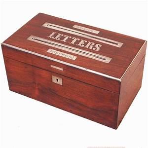 antique regency rosewood letter box for sale at 1stdibs With antique letter box for sale