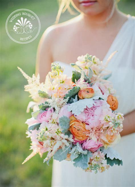 Pastel Spring Wedding Bouquet