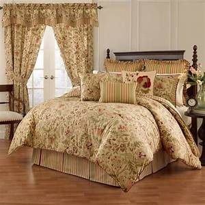 Waverly, Imperial, Dress, Antique, 4, Piece, Comforter, Set