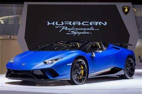 Lamborghini Huracan Performante Spyder Is One Aggressive