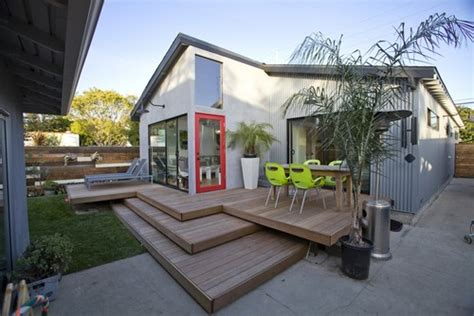 contemporary fireplace photos 13 clever deck designs to consider