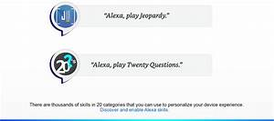 Alexa User Guide - Fun  U0026 Games