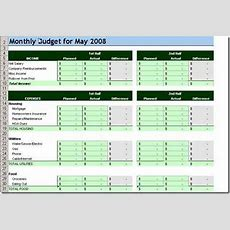 Barbara's Beat Christian Personal Finance Shares10 Free Household Budget Spreadsheets