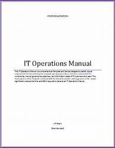 it operations manual template the higher ed ciothe With department manual template