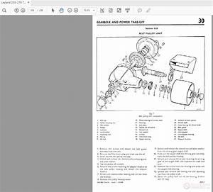 Leyland 255-270 Tractor Repair Operation Manual