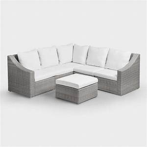 Outdoor sectional sofas elegant black wicker outdoor for Sectional sofas for outdoor