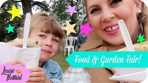 visiting  food garden fair holdenby house summer