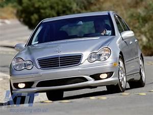 Mercedes Classe C 2006 : front grille mercedes benz c class w203 1998 2006 amg design ~ Maxctalentgroup.com Avis de Voitures