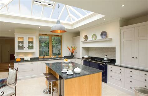 kitchen extension roof designs large light and airy kitchen extension with roof lantern 4747