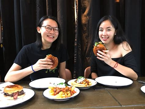 the impossible burger taste test with leung and chow hong kong tatler