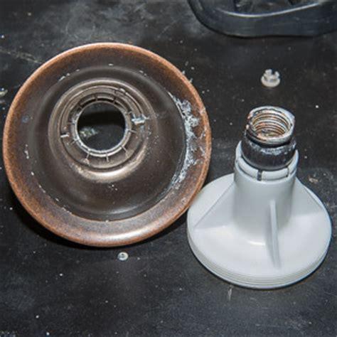 Take apart a Moen shower head