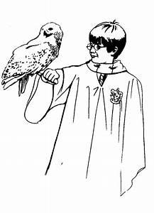 Coloriages De Harry Potter Les Personnages Page 2