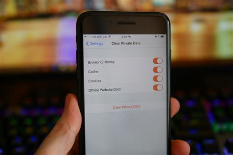 delete cookies on iphone how to delete cookies and browsing history on an iphone or