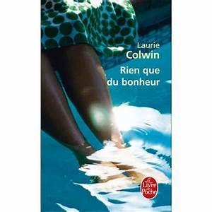 Cado Carte Que Du Bonheur : rien que du bonheur poche laurie colwin achat livre ~ Dailycaller-alerts.com Idées de Décoration