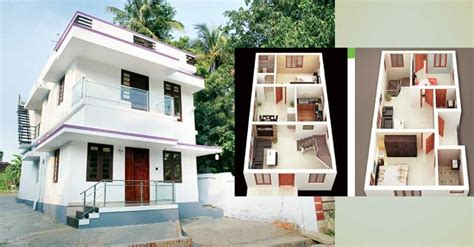 3 Cent Home Design : 1350 Square Feet 3 Bedroom Two Story Home Design At 3.25