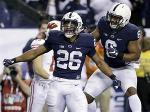 Saquon Strong  Penn State U0026 39 S Barkley Lifts Himself To Top