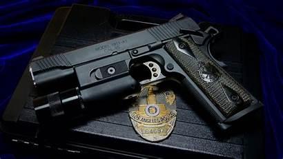 Police Gun Badge 1911 Weapon M1911 Pistol