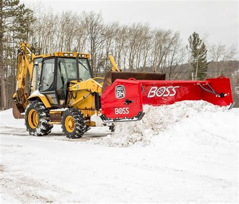 boss bh backhoe box plow