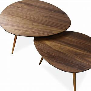 maddox mid century modern nesting coffee table set edloe With mid century nesting coffee tables