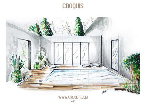dessiner en perspective une cuisine dessin perspective croquis paysage artiste alexandre