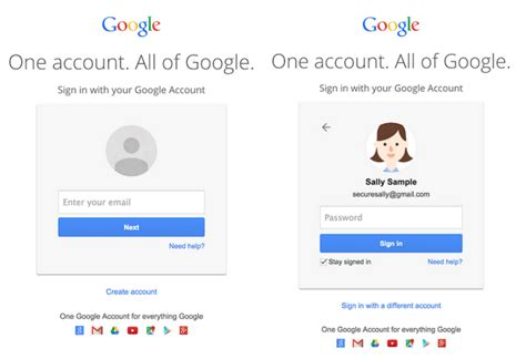 Gmail's New Login Screens Hints At A Future Beyond