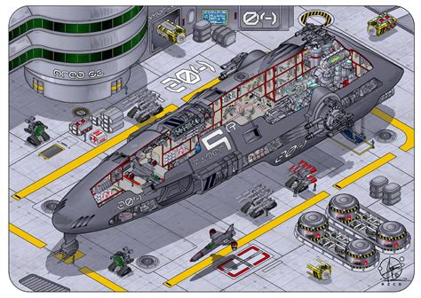 starship deck plan creator spaceship tiger class by paul muad dib on deviantart