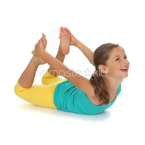 floor bow kids yoga poses yoga  classrooms