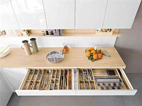 contemporary italian kitchen offers functional storage - Kitchen Storage Shelves Ideas
