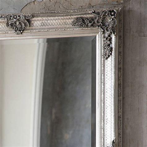 Silver Wall Mirrors Decorative - decorative antique silver wall mirror by primrose plum