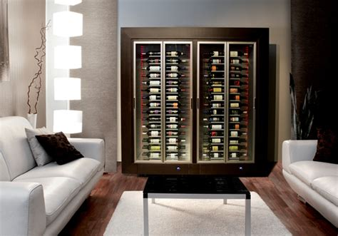 parete vino wine displays