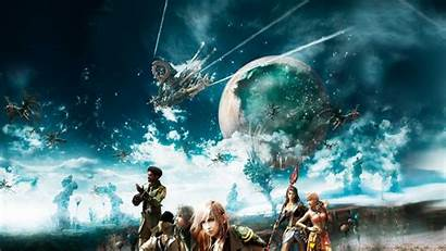 Fantasy Final Xiii Ff Wallpapers Backgrounds Cocoon