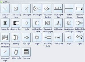 Reflected Ceiling Plan Symbols Lighting